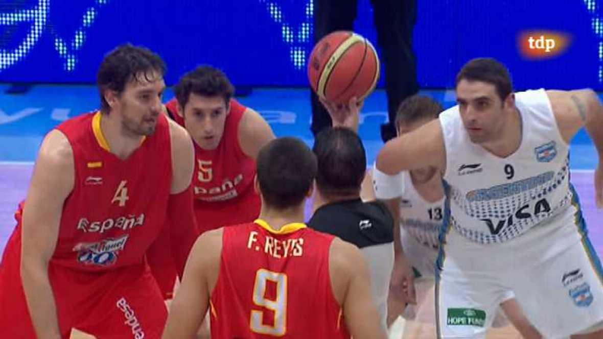 Baloncesto - Gira Preolímpica de la Selección española: España - Argentina - ver ahora