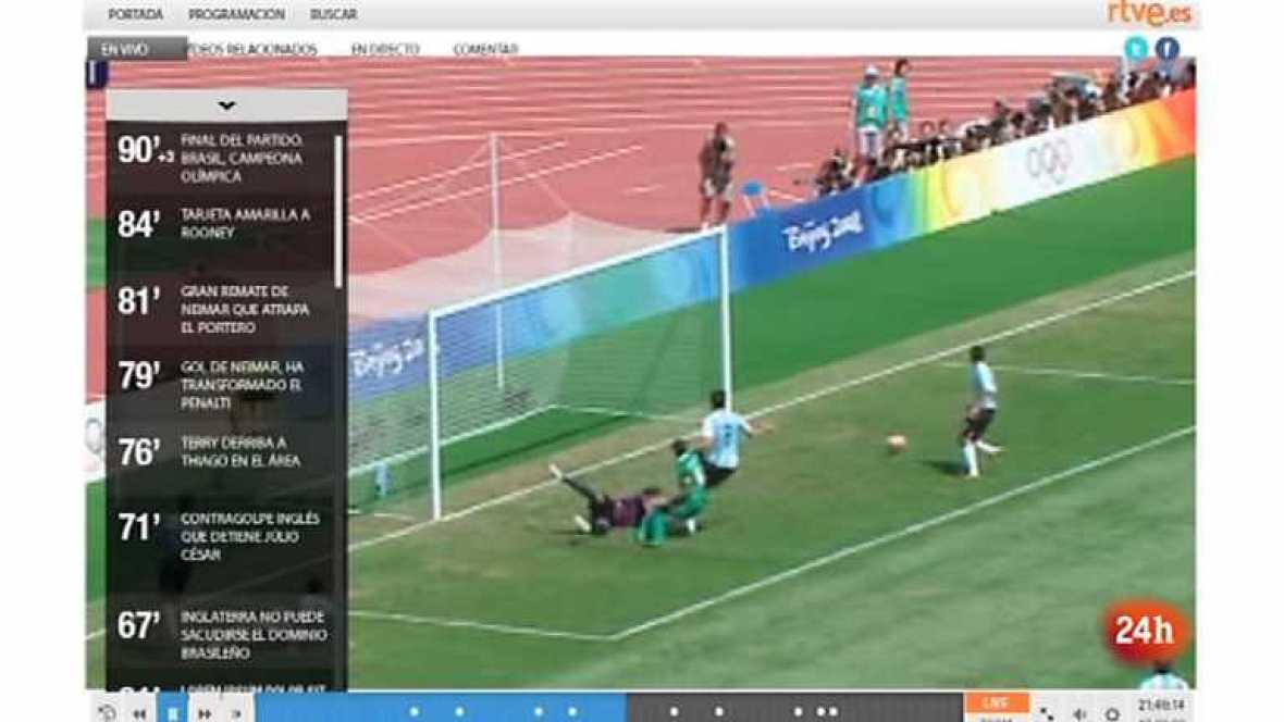 """Zoom Net - Los Juegos Olímpicos en RTVE.es, el móvil Panasonic """"Eluga"""" y crowdfunding español - 21/07/12 - ver ahora"""