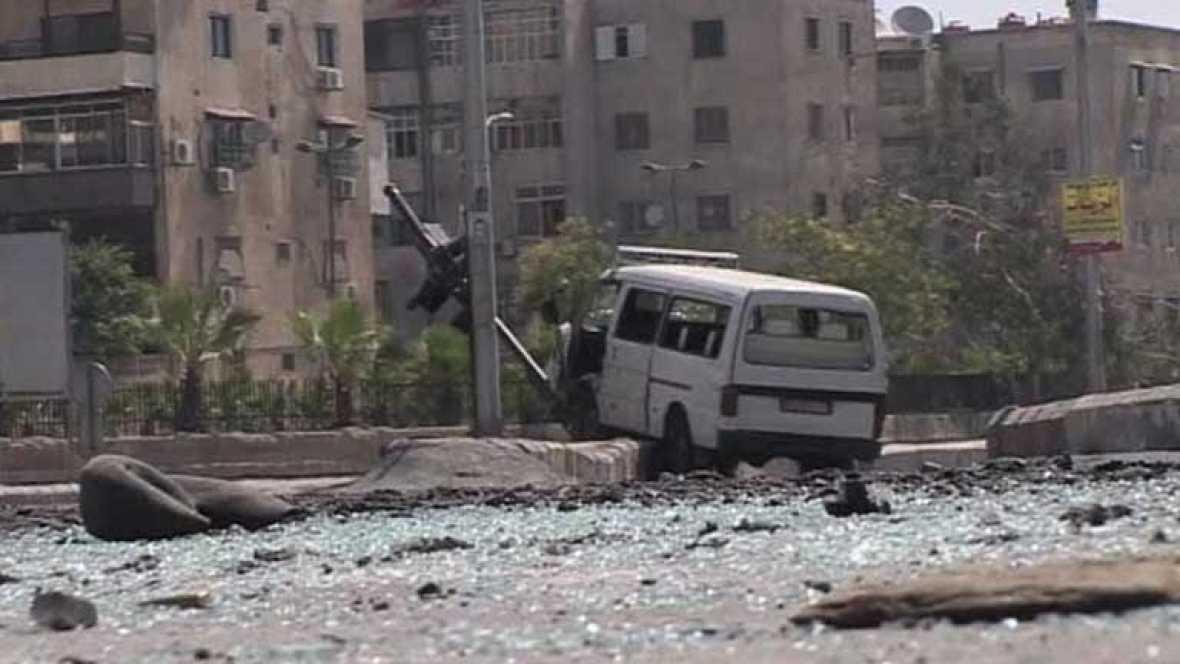 Situación tensa y confusa en Damasco