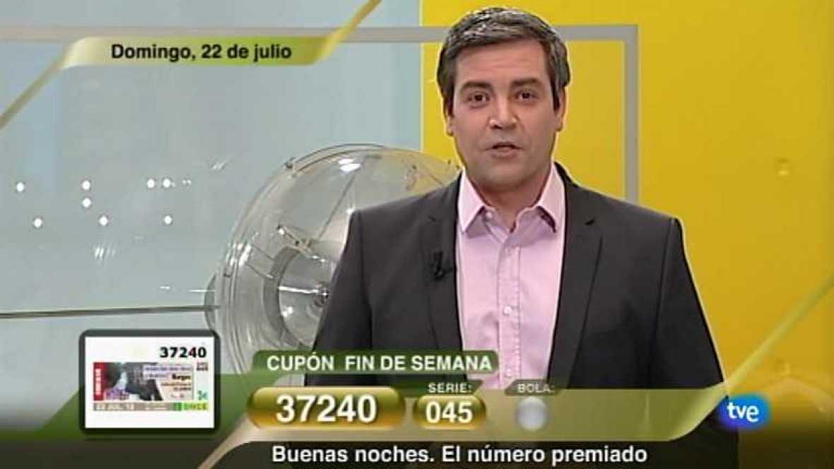 Sorteo ONCE - 22/07/12 - Ver ahora