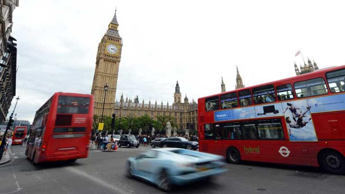 A apenas 5 días para que comiencen los Juegos Olímpicos, en Londres aún no se respira mucho ambiente olímpico. La frialdad de sus habitantes contrasta con la magnitud del evento. El habitual ambiente turístico es lo que impera en las calles de la cap