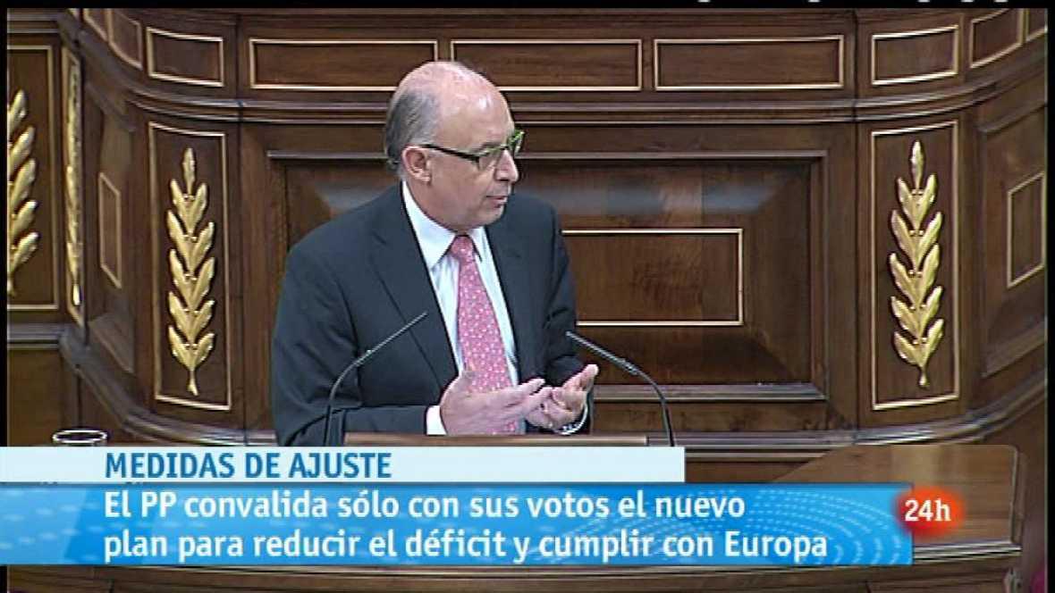 Parlamento - El foco parlamentario - Plan de ajuste- 21/07/2012