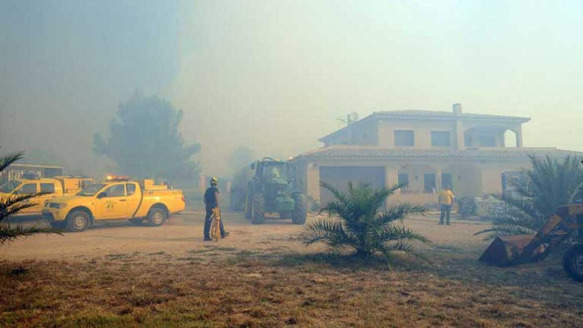 El fuego que avanza sin control por en el Alt Empordà se ha cobrado ya cuatro víctimas mortales