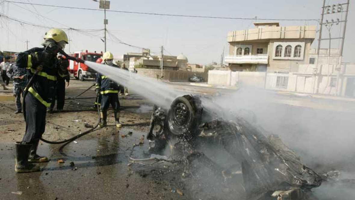 Más de 100 personas han muerto y 200 están heridas por una cadena simultánea de atentados en Irak