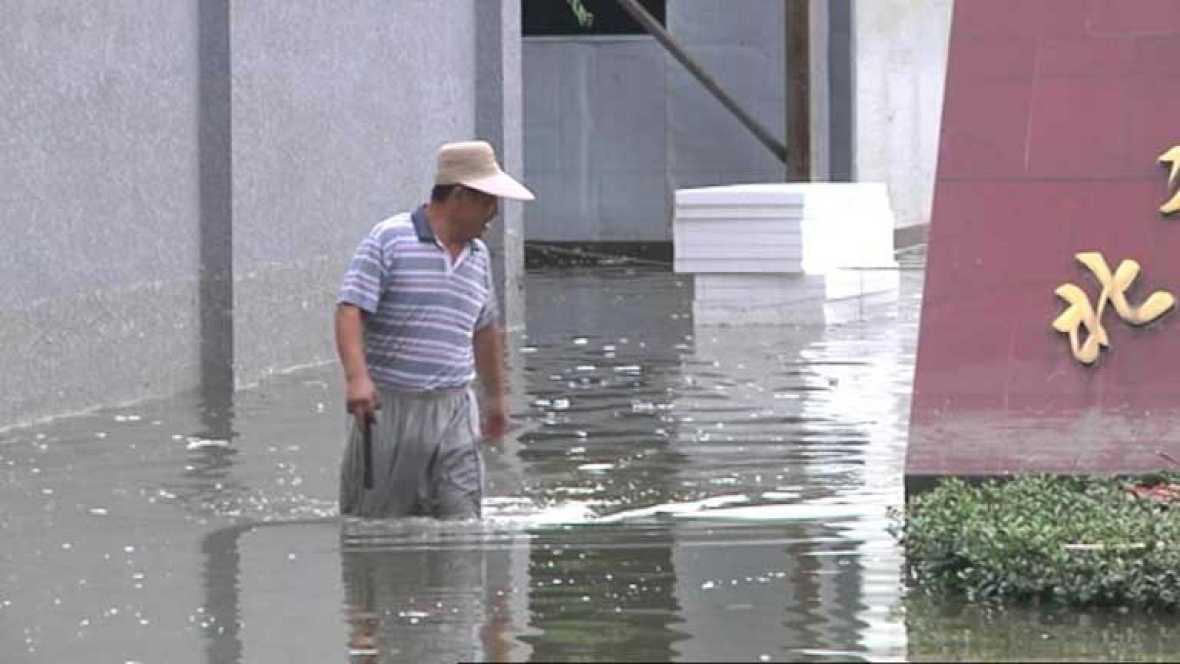 China sufre las peores inundaciones de los últimos 60 años