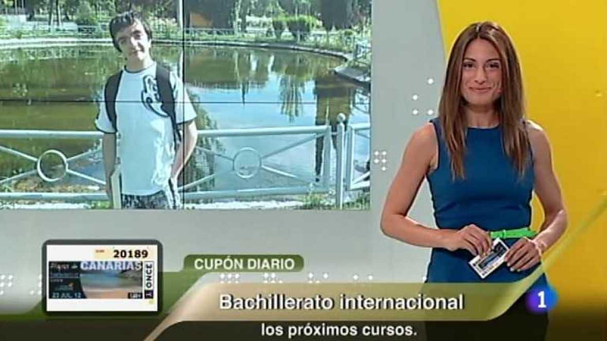 Sorteo ONCE - 23/07/12 - Ver ahora