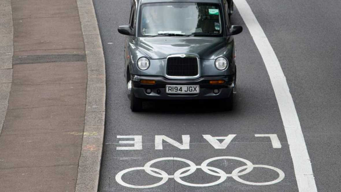 Líos de tráfico en Londres antes de los Juegos