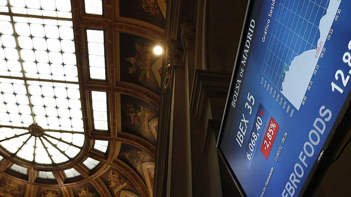El Tesoro tratará de colocar mañana hasta  3.000 millones en letras con la prima de riesgo en máximos