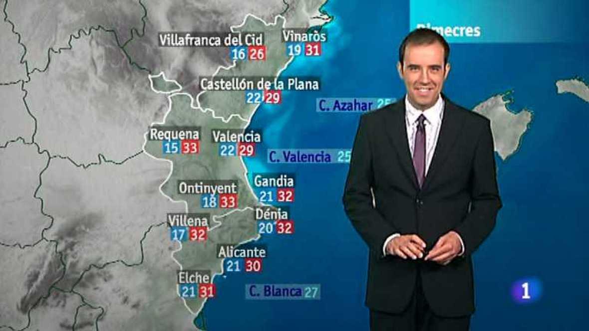El tiempo en la Comunidad Valenciana - 24/07/12 - Ver ahora