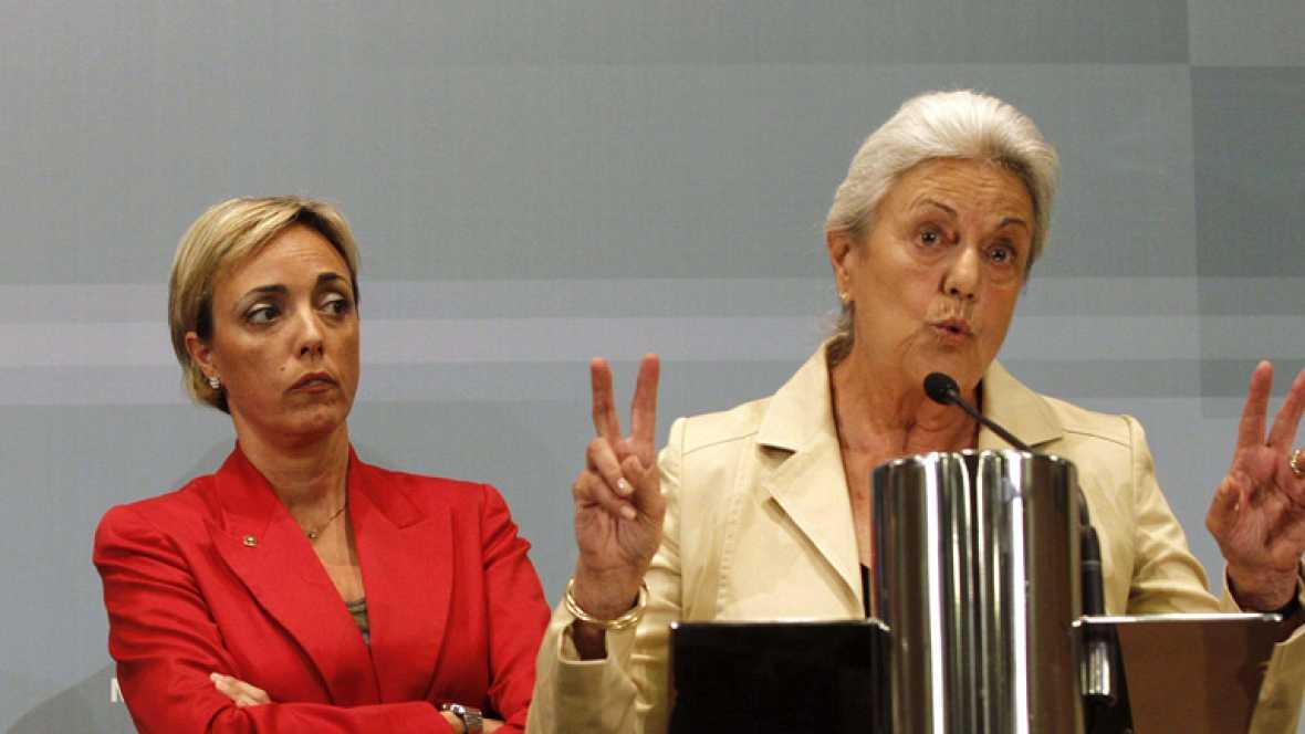 El Juez de la Audiencia Nacional Javier Gómez recibe a la familia de Publio Cordón