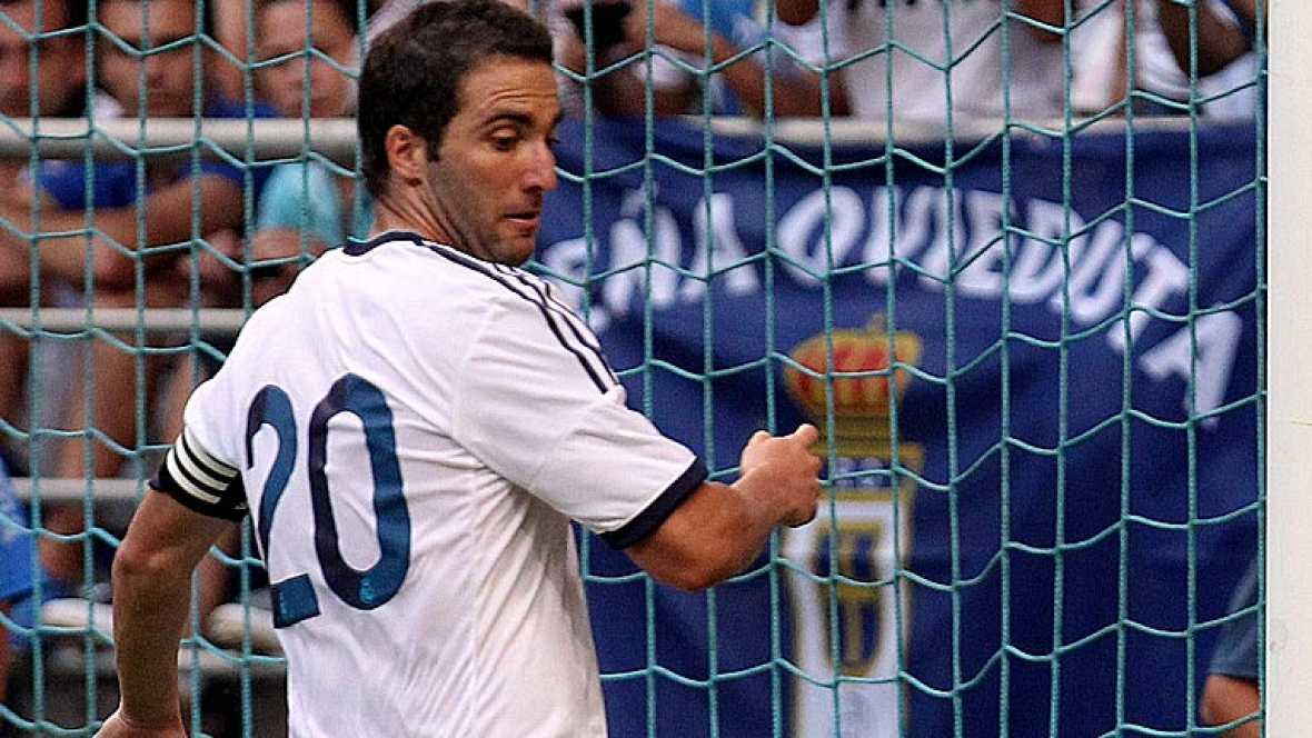 El Real Madrid empieza el curso goleando al Oviedo (1-5)