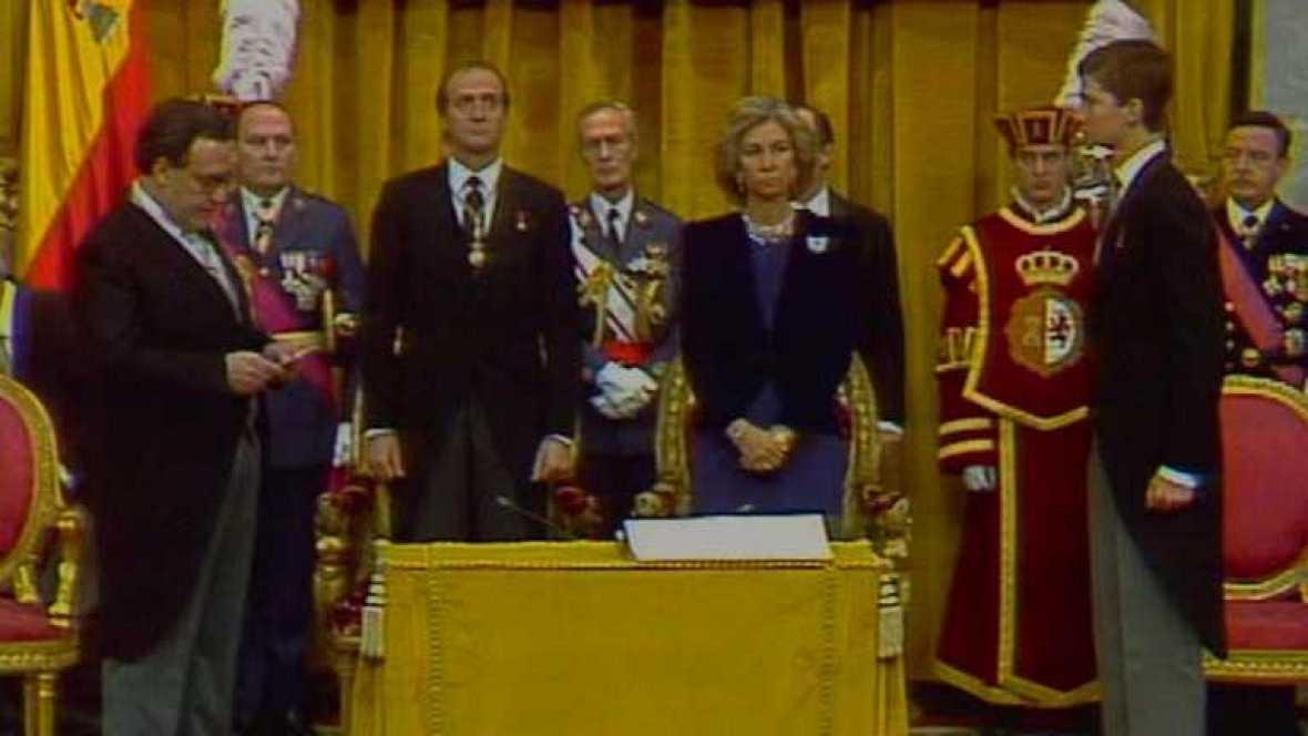 Jura de la Constitución del Príncipe  de Asturias