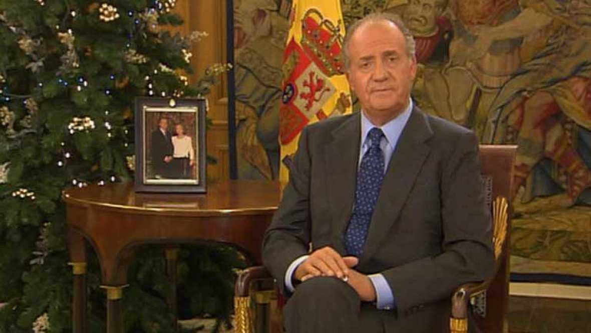 Mensaje de Navidad de Su Majestad el Rey de 2002