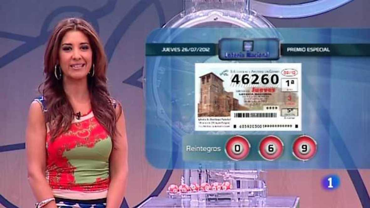 Lotería Nacional y Primitiva - 26/07/12 - ver ahora