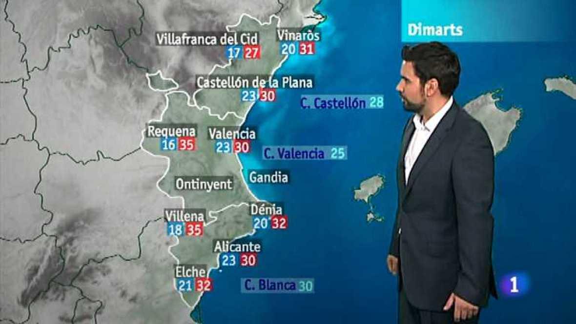 El tiempo en la Comunidad Valenciana - 30/07/12 - Ver ahora