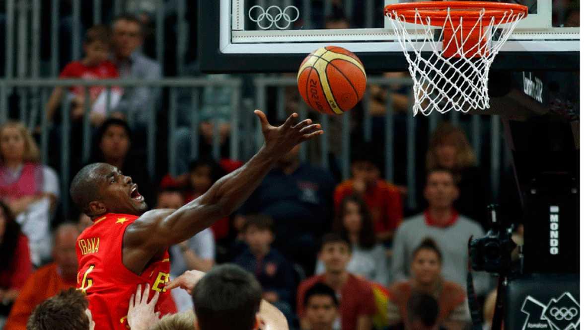 Ibaka, selección española de baloncesto