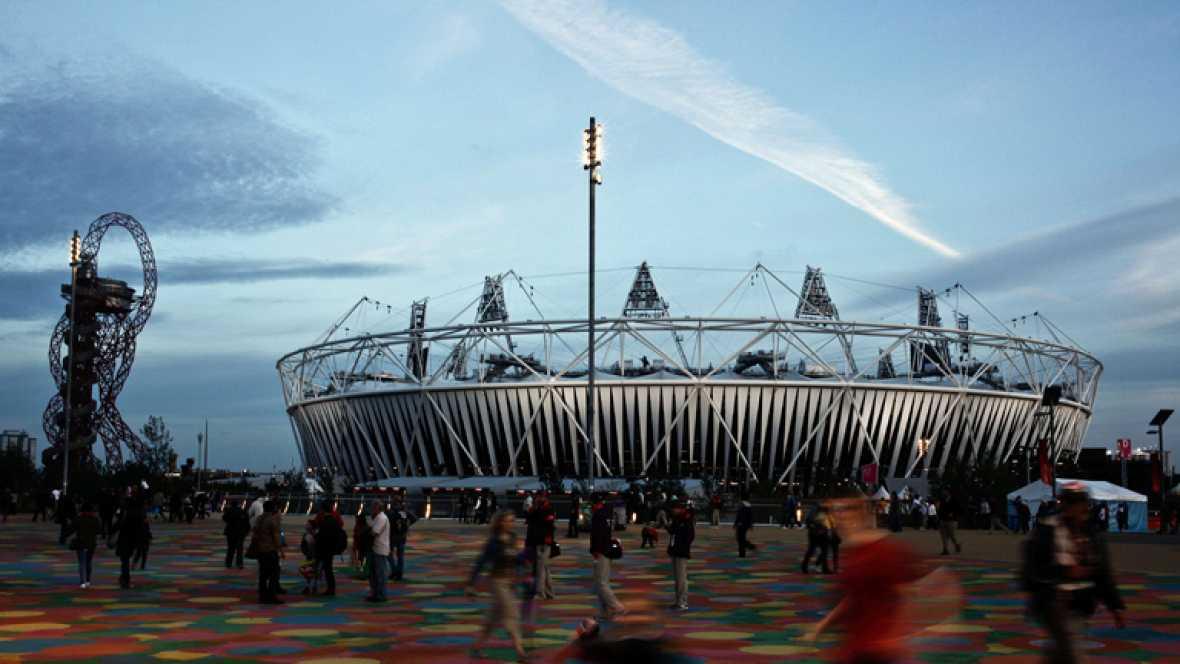 RTVE.es  ha realizado un recorrido a cámara rápida por el Parque Olímpico de Londres 2012 .
