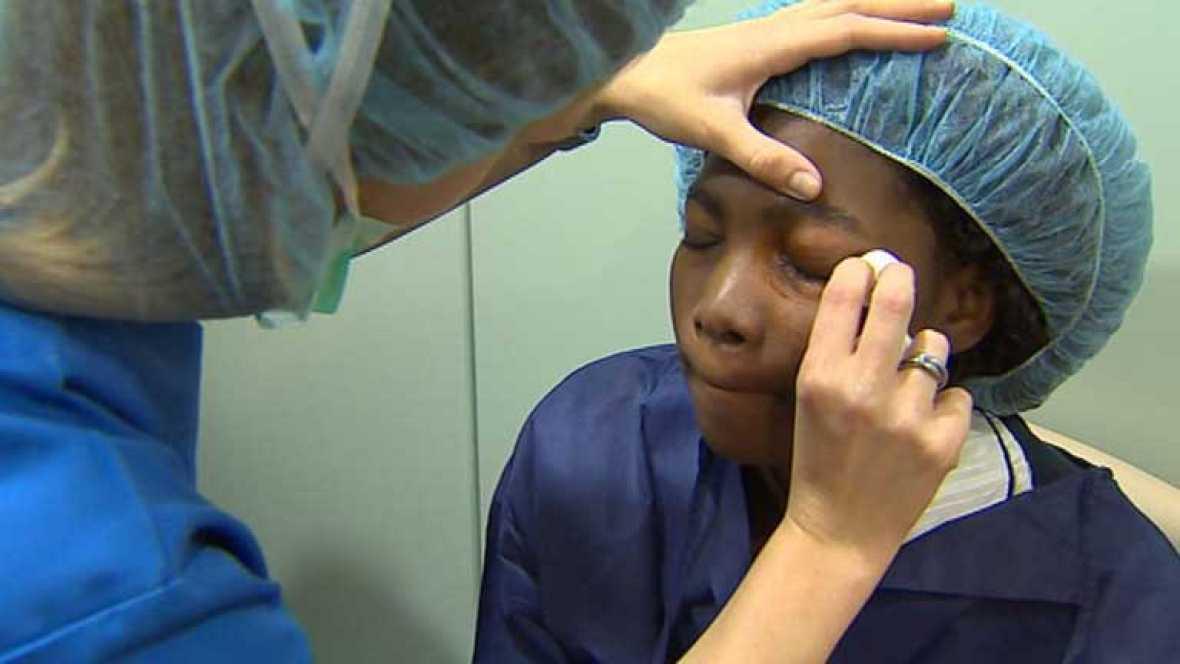 Estudiante de Mozambique es operada de córnea en España gracias a cadena solidaria