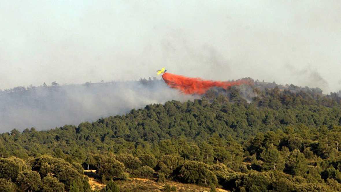Las condiciones del viento ayudan a controlar el incendio de Guadalajara