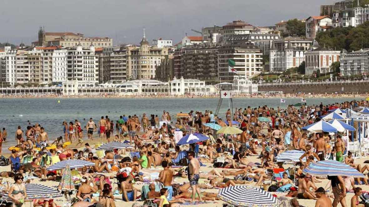 Temperaturas muy altas en Canarias, Castilla-La Mancha y Andalucía