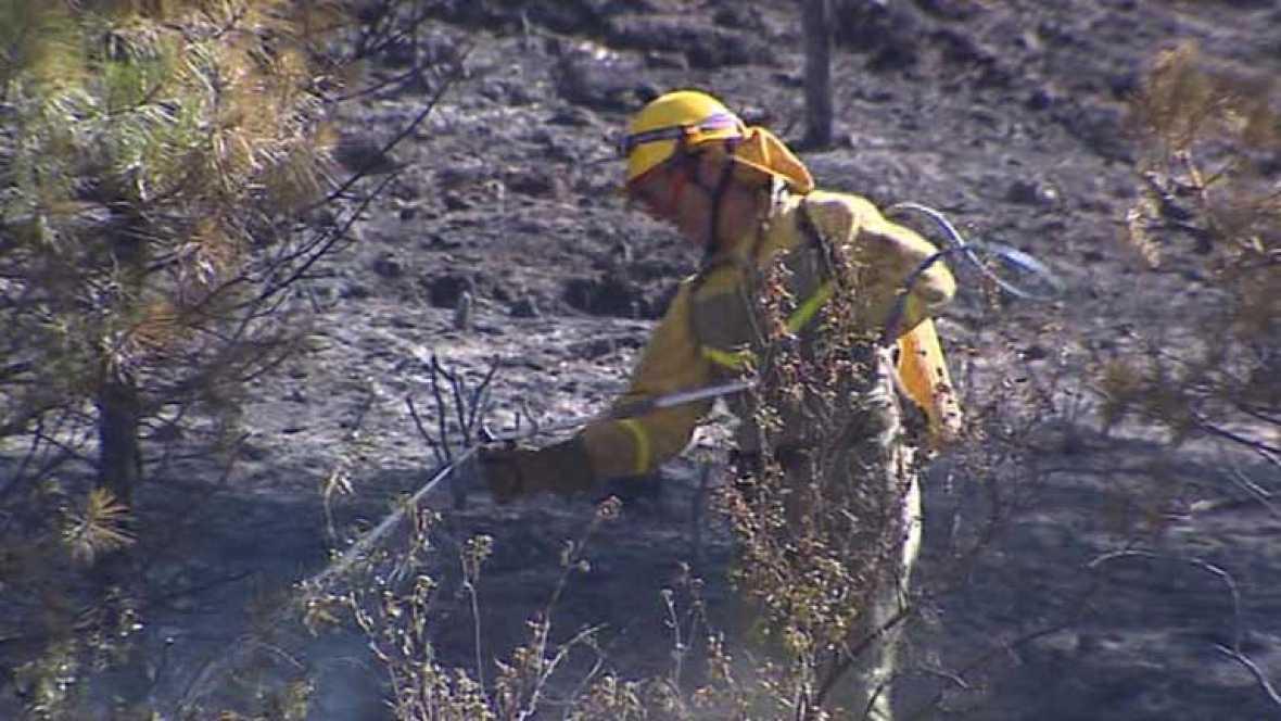 El incendio del Alto Tajo se encuentra ya estabilizado y podría ser controlado en las próximas horas