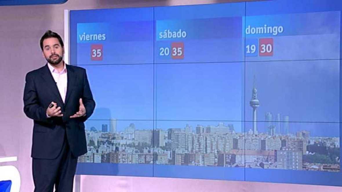 El tiempo en la Comunidad de Madrid - 03/08/12