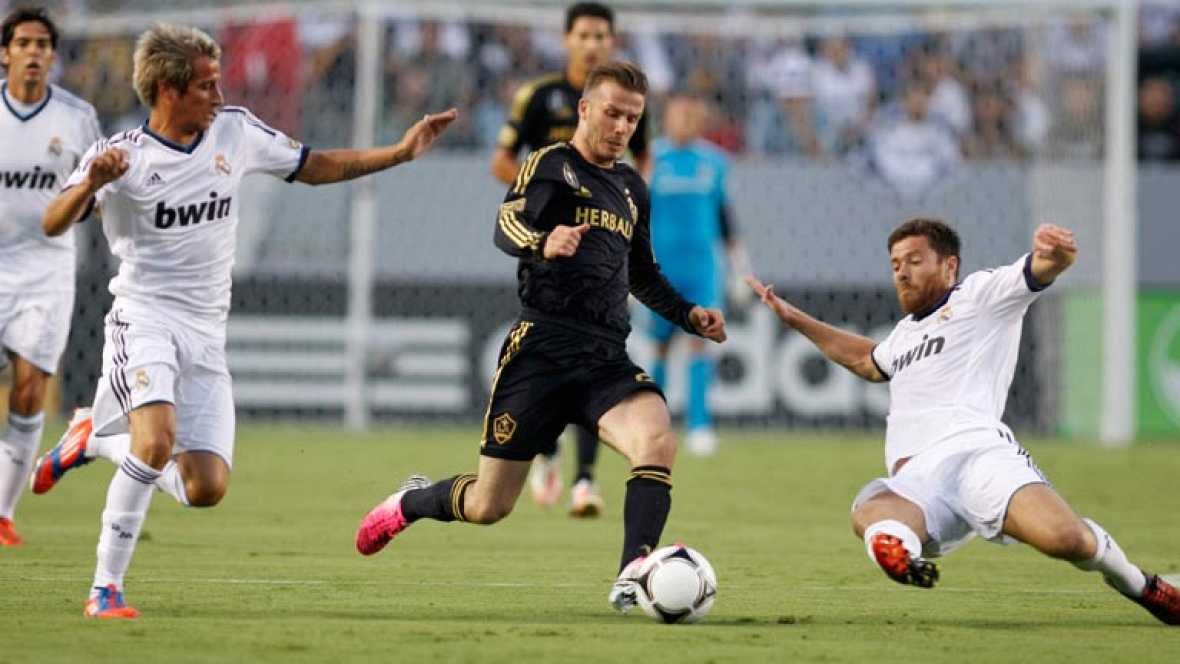 El Madrid golea al L.A. Galaxy (1-5)