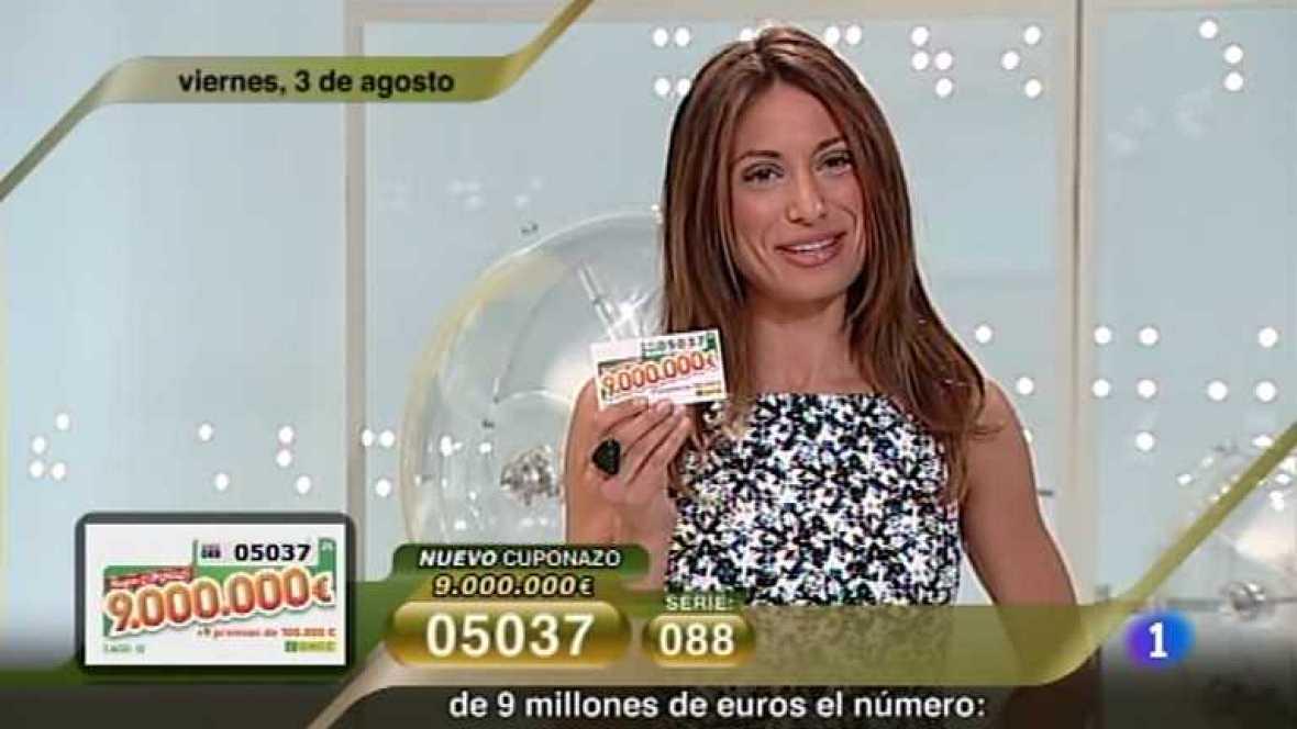 Sorteo ONCE - 03/08/12 - Ver ahora