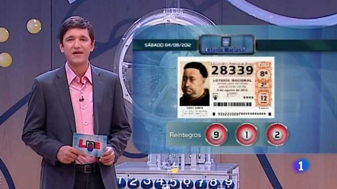 Lotería Nacional - 04/08/12 - ver ahora