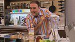 José Andrés cocina junto a Tonino y Verónica Gómez Acebo una sopa de espárragos con una ensalada de cogollos y atun