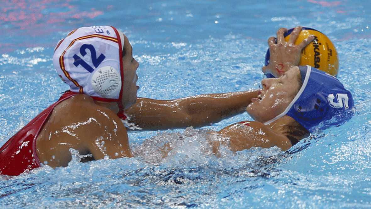 El waterpolo femenino en Londres