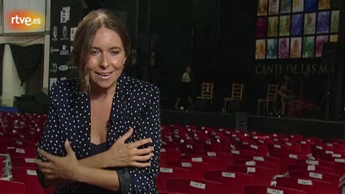 Rocío Márquez recuerda a los mineros leoneses