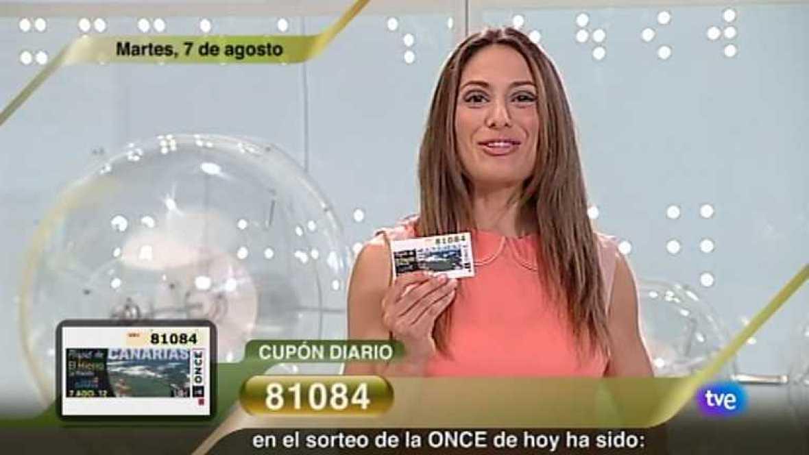 Sorteo ONCE - 07/08/12 - Ver ahora