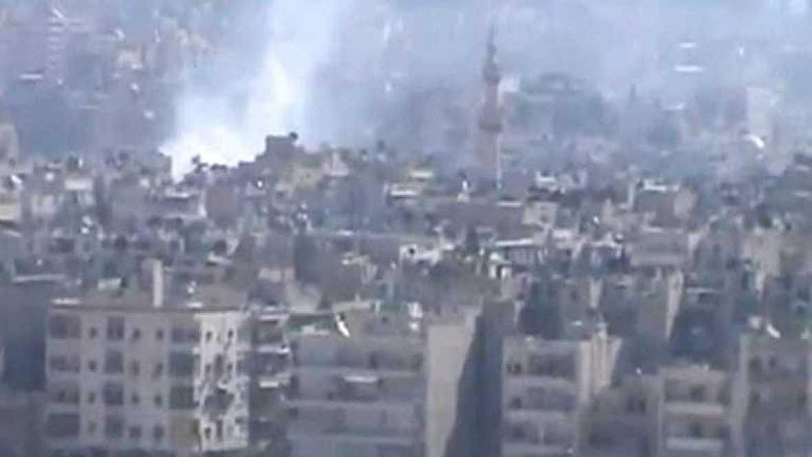 Gran ofensiva del ejército sirio sobre Alepo