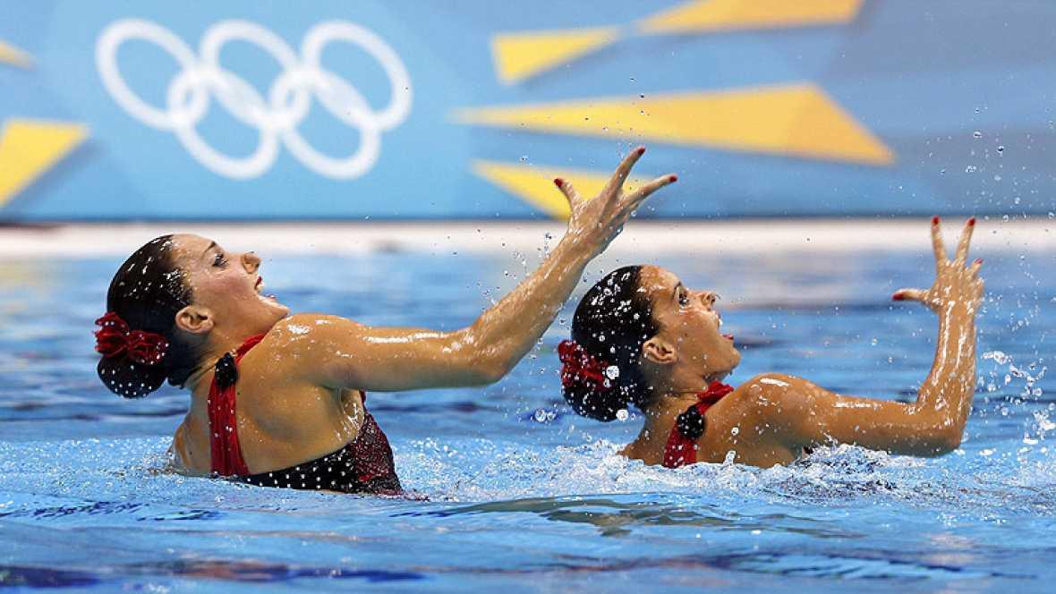 Las chicas de la sincronizada buscan la segunda medalla en Londres 2012
