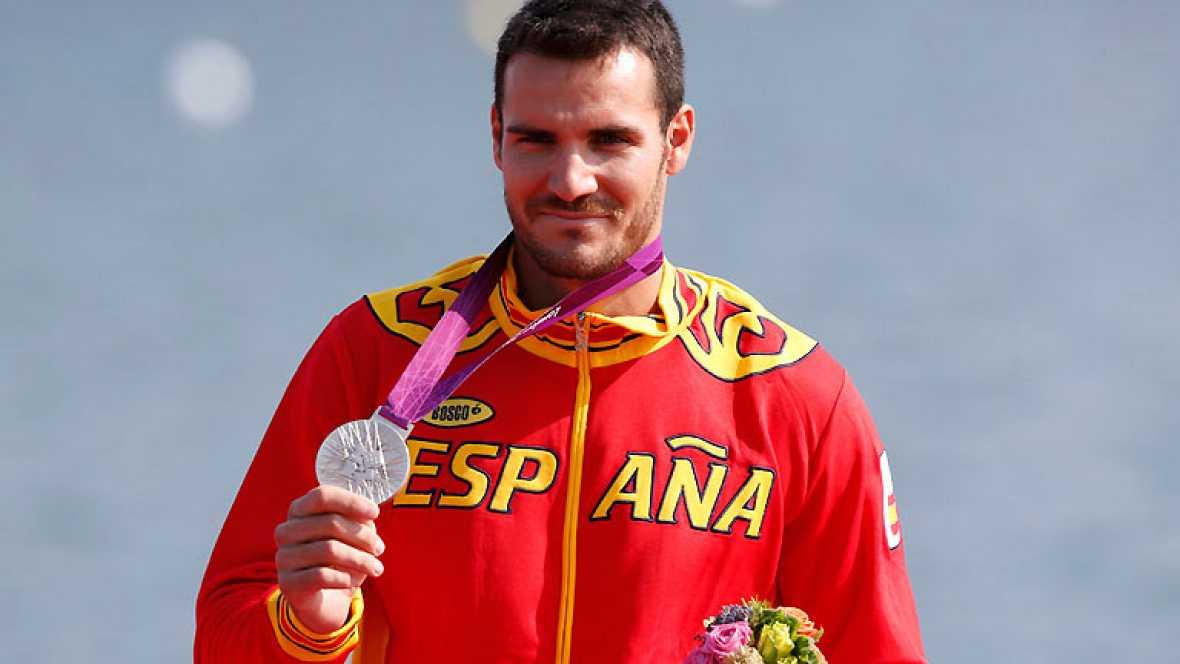 Saúl Craviotto consigue una nueva medalla de plata para España