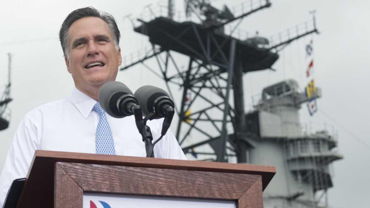 """Romney presenta a Ryan como el próximo """"presidente"""" de EE.UU."""