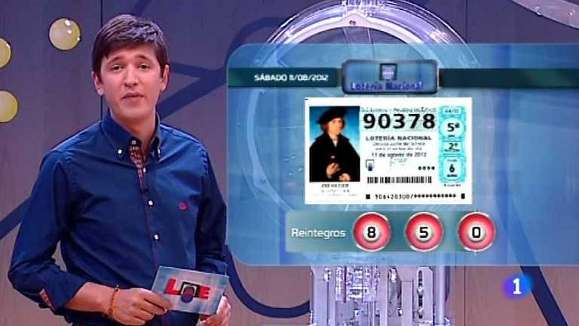 Lotería Nacional - 11/08/12 - ver ahora