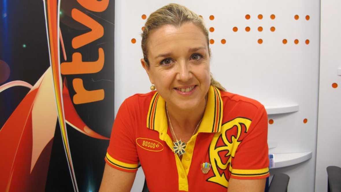La entrenadora del equipo español de natación sincronizada ha respondido a las preguntas de los internautas de RTVE.es acerca de las dos nuevas medallas de las 'sirenas', la eterna rivalidad con Rusia y la irrupción de las chinas