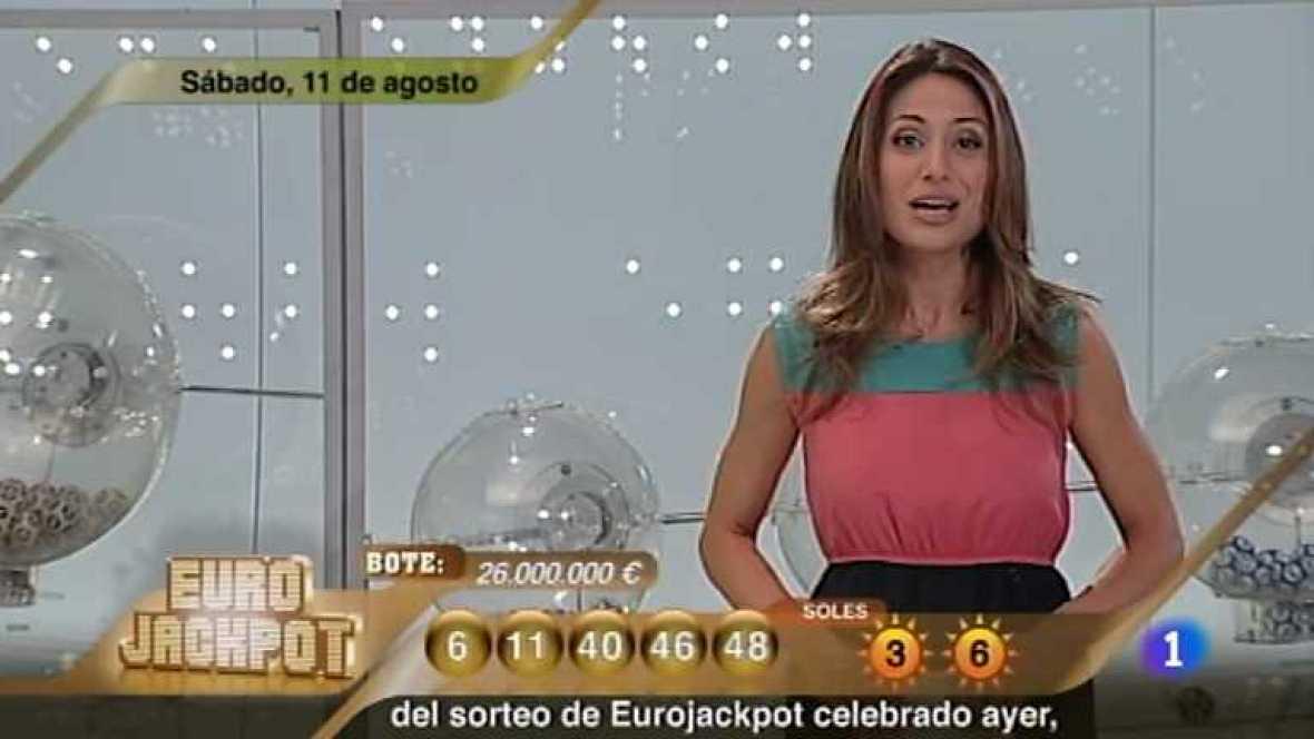 Sorteo ONCE - 11/08/12 - Ver ahora