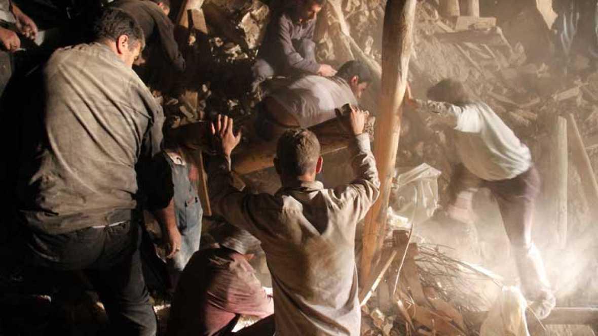 250 muertos y más de 2 mil heridos en Irán tras un fuerte terremoto