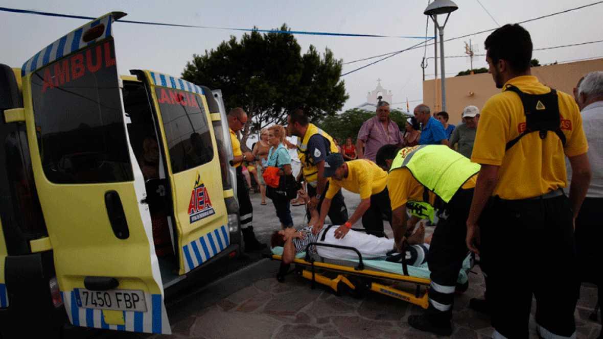 Casi 1.000 evacuados en La Gomera