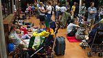 Los primeros 1.000 evacuados por el incendio en La Gomera son vecinos y turistas