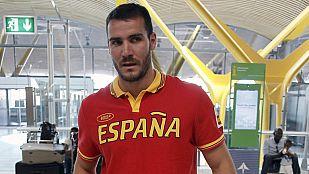 La delegación española ya está en nuestro país