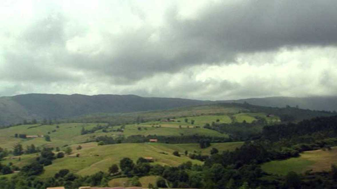 Precipitaciones localmente fuertes en el oeste de Galicia