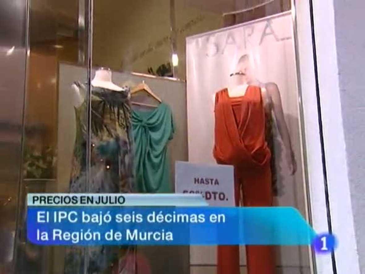 Noticias Murcia.(14/08/2012).