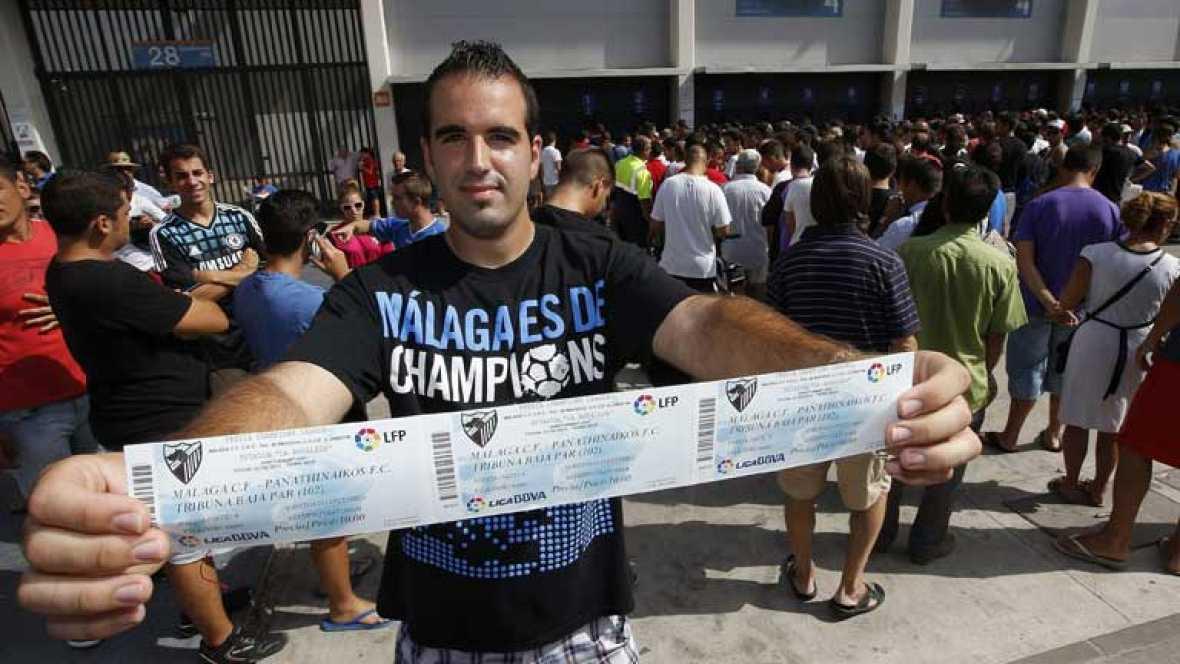 Comienza la temporara 2012/13 de Liga con los primeros partidos. Uno de ellos, el Mallorca - Español con un horario poco habitual, las once de la noche. El Sevilla empieza la temporada mas ilusionante de los últimos años, y  la liga se abre en Balaid