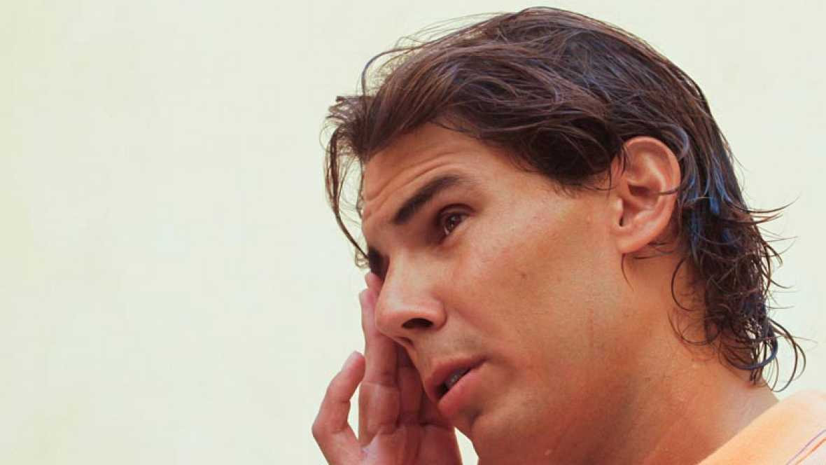 n Manacor ha hablado con TVE Rafa Nadal, después de anunciar que no acudirá al Open Usa. Aún no se ha recuperado de su tendinitis, así que hasta que no pueda competir al máximo nivel y sin reservas, no volverá.