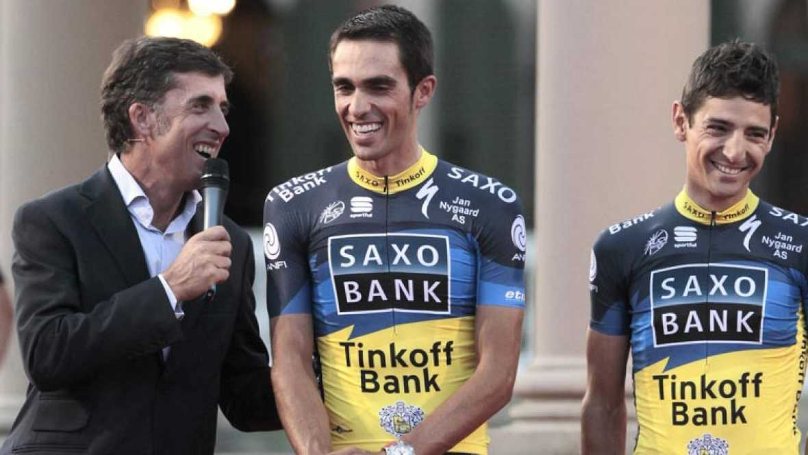 Contador, gran favorito para la Vuelta