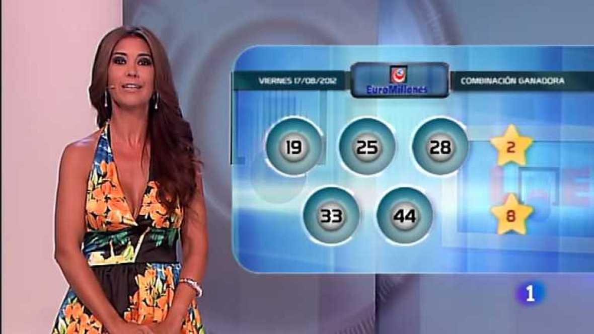 Bonoloto y Euromillones - 17/08/12 - ver ahora
